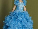 出口外贸童礼服公主裙花童礼服儿童演出服连衣裙
