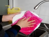厂家生产批发竹炭纤维环保清洁毛巾厨房专用洗碗巾