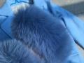 全新。袖口是真的狐狸毛。300包邮转。,感兴趣的话给我留