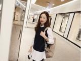孕妇装 2015新款春款韩版假两件套衬衫背心上衣668