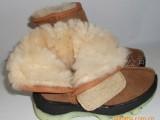 冬季新款皮毛一体雪地靴羊毛靴子真皮童鞋 保暖童靴