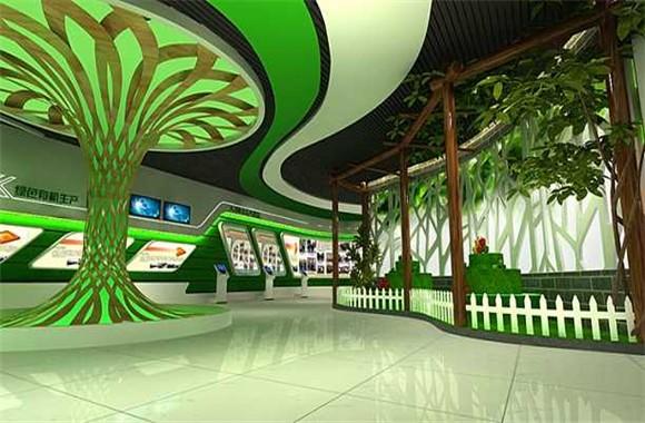 农业经济与发展展厅装修设计要点
