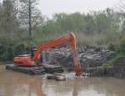 德国沃尔沃215型水路挖掘机出租服务操作灵活