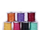 专业生产饰品蜡线手工DIY挂绳辅料优质涤纶线彩色弹力水晶蜡线