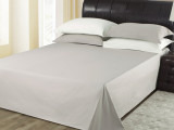 喜牌 宾馆客房床上用品酒店布草 40支全棉纯白床单 被单厂家直销