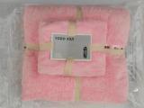 微信爆款Yodo xiui 出口日本吸水绒毛巾+浴巾套装 儿童沙