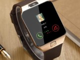 深圳dZ09蓝牙电话手表影音娱乐数码设备智能健康监测运动计步