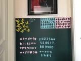 磁善家生产磁性绿板贴加厚承重牢固磁性吸附黑板墙贴