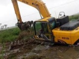 本溪湿地挖机租赁