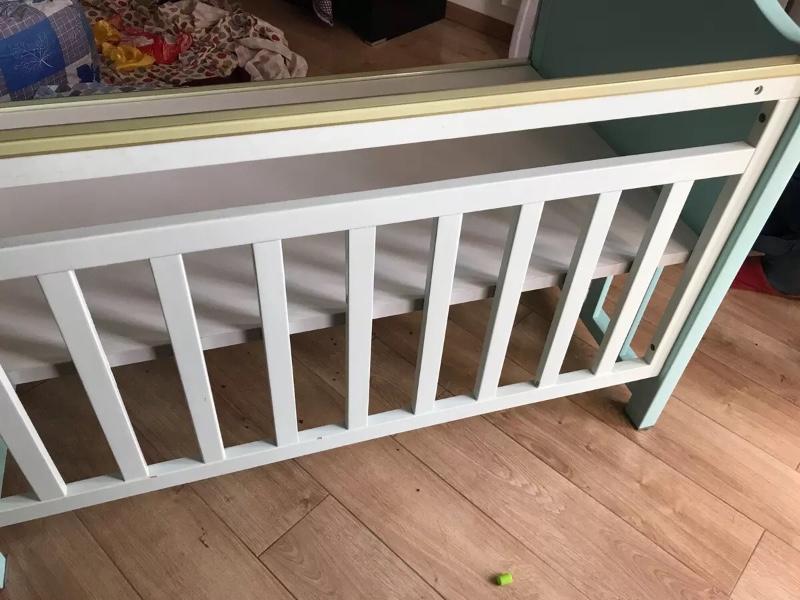 纯实木 婴儿床