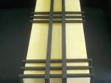 户外壁灯【虹镜照明】批发供应不锈钢仿云石户外壁灯