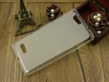 厂家供应:中兴BLADE L2布丁套 手机保护套内外磨砂边透明保