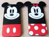 潮货超可爱卡通小老鼠手机壳iphone5/5S/4s情侣手机套