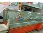 超市双面熟食保鲜展示柜,不锈钢熟食柜