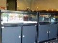 深圳样品展示柜手机柜台烟酒柜玻璃柜展销会展柜工艺品
