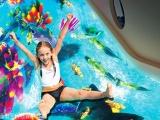互动投影滑梯儿童淘气堡乐园