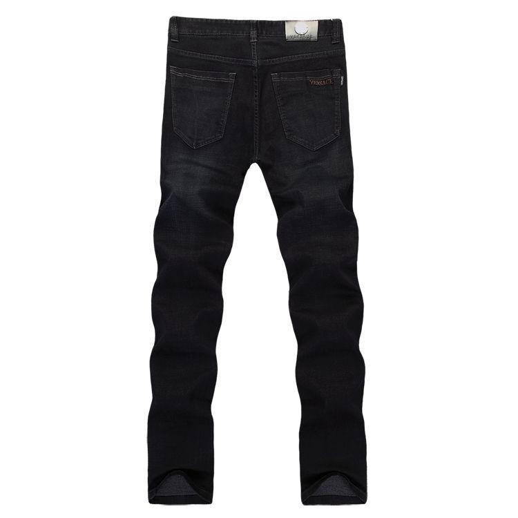 男式牛仔裤外贸批发 男弹力牛仔批发 男士修身商务中腰牛仔长裤子