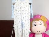 双胞宝贝婴儿连体衣服婴幼儿新生儿衣服开档爬服纯棉宝宝连身衣薄