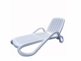 室户外折叠塑料沙滩躺椅泳池馆休闲躺椅阳台花园午睡躺椅
