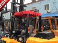 镇江二手叉车网-出售3吨柴油合力杭州叉车-包送