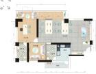 湘桥 绿榕湖畔 2室 2厅 128平米 整租