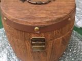 现货批发木质茶叶桶 复古烧色普洱茶叶桶 茶叶包装盒咖啡木桶