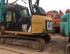 转让遵义二手挖机卡特313D,315D与324D挖机