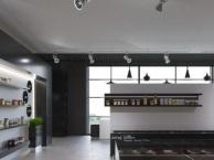 南山创业人人乐餐厅装修前海金融合作区西餐厅装修设计