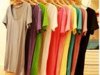 2014夏季糖果色短袖t恤女纯色莫代尔纯棉女士t恤打底衫韩国女t恤