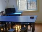 转让办公培训桌折叠桌 配套不锈钢折叠桌 (买来培训用的