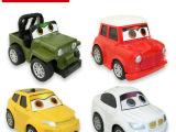 新品 164汽车总动员经典Q版回力合金车模型 儿童仿真车玩具批发