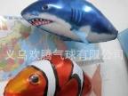 电子遥控鲨鱼氦气球、遥控小丑鱼氦气球招商