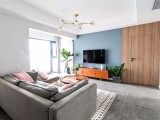 96 温馨北欧3室2厅,舒适居家的小资生活