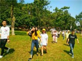 公司聚会户外团建趣味秋游黄江周边推荐松山湖生态园