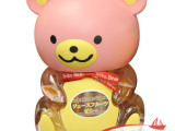 台湾 盛香珍布丁熊果冻综合味 粉熊580g*6个/箱 进口零食批