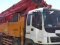 转让 混凝土泵车三一重工出售09年五十玲三一48米泵车