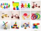 儿童益智玩具早教积木实心小方块塑料积木拼装儿童玩具批发