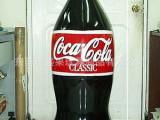 供应PVC充气可乐瓶,广告吹气可乐瓶,各式各样可自定