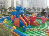 鄭州大型充氣滑梯游樂園,充氣蹦蹦床,新款蹦蹦床