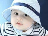 2015夏季新款宝宝纯棉渔夫帽韩版婴儿童全棉盆帽田园渔夫太阳帽