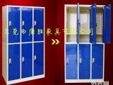 员工铁皮柜厂家 供应KS优惠促销工厂耐用铁皮员工柜