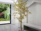 大型落地盆栽仿真绿植物 日本红枫树槭树假树秋色软装陈列饰品