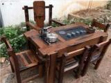 小茶台仿古茶几老船木家具