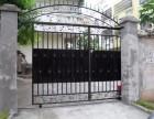河北区铁艺大门围栏护栏制作