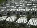 婚礼竹节椅出租 透明竹节椅租赁 金色银色白色木色竹节椅出租