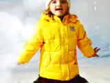 专业童装羽绒服 巴布狗 2013冬款男女童羽绒服 童园品牌童装折