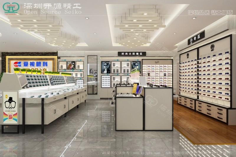 眼镜店展柜装修设计优惠活动进行中