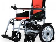 轻便折叠轮椅贝珍BZ-6401电动轮椅车电动代步车