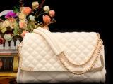 2014新款小包包菱格链条女包潮流时尚女士单肩斜跨欧美女包AB-