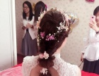 新娘整体造型(从事新娘化妆有八九年的经验